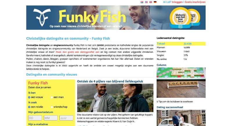 Funkyfish website